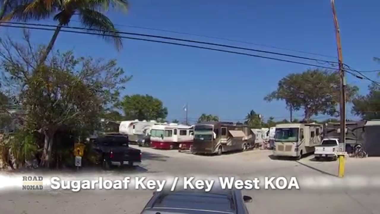 Sugar Loaf Key / Key West KOA Campground Review | Traveling Robert   YouTube