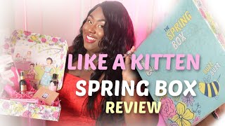 Like a Kitten Spring Box review| SEX TOYS, ANAL PLUG, LUBES, CALEXOTICS BUTTERFLY KISS VIBRATOR.