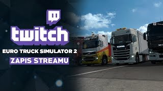 Konwój z widzami Twitch   - Euro Truck Simulator 2 #160
