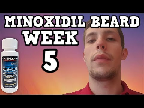Minoxidil Beard | Week 5 | The Experiment |  #Facialfuzzfridays
