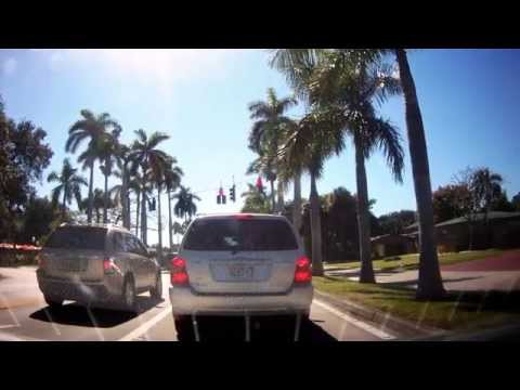 Driving around Ghetto and Historic Fort Myers, Florida