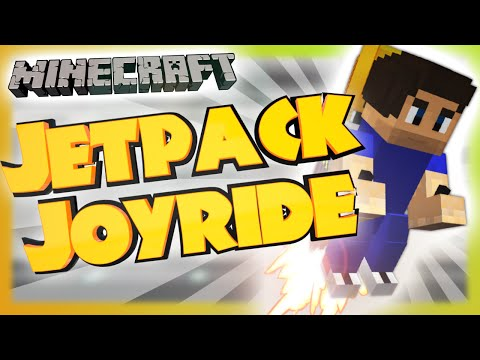 Jetpack Joyride In Vanilla Minecraft | 1.9 Custom Map