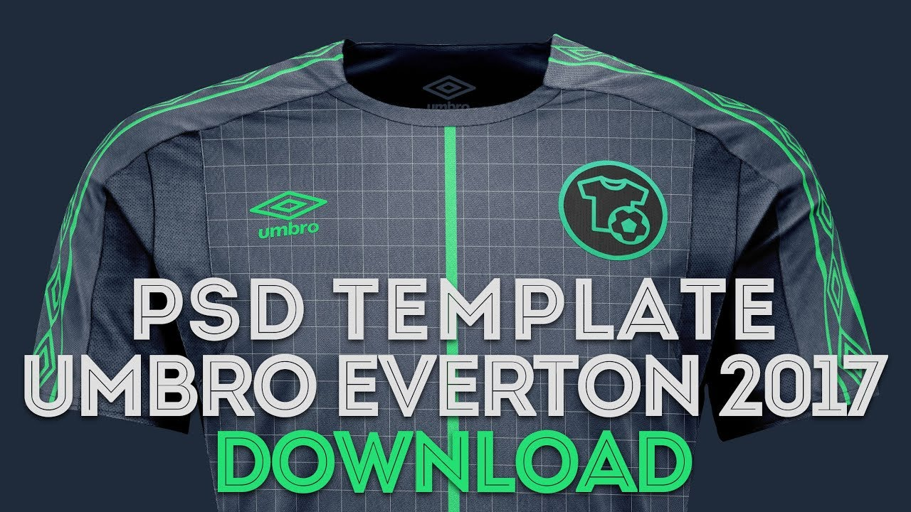 Download UMBRO Template Download - Football Mockup - PSD - YouTube