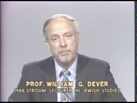 Stroum Lectures 1985: Israelite Settlement in Canaan II- William Dever