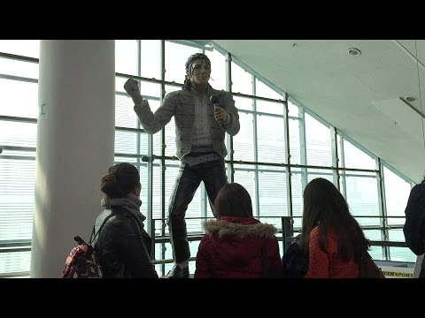 Michael Jackson at National Football Museum