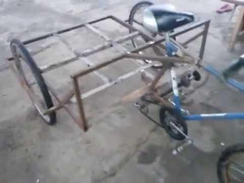 видео: Грузовой велосипед.