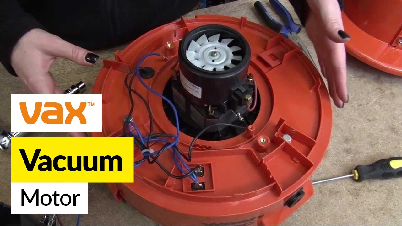 how to replace a vax motor on a vax multifunction 6131 vacuum cleaner [ 1280 x 720 Pixel ]