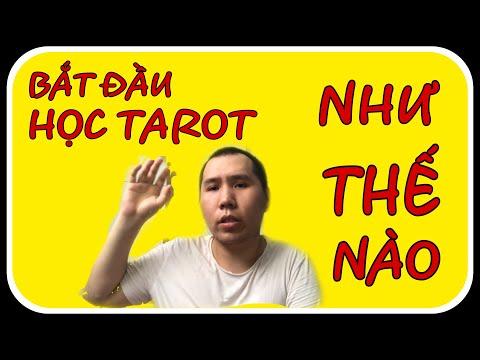 5 bí kíp  cho người mới HỌC TAROT nếu không muốn bị rối    Hoang Minh tarot   Học tarot cơ bản  
