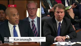 WATCH: Sen. Cory Booker says he's worried about Americans' rights under a Kavanaugh court