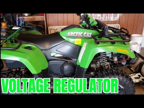 2007 Arctic Cat 700 EFI Voltage Regulator