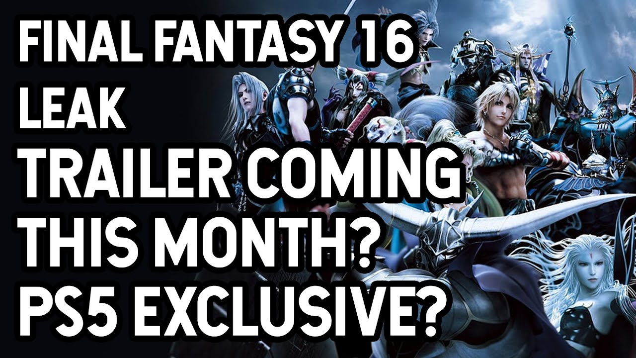 'Final Fantasy 16' release date, trailer, and story for the PS5 timed ...