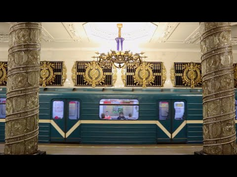 St Petersburg Metro - Palace Of The People!