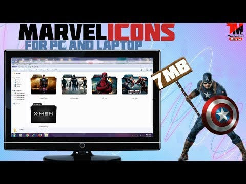 Download How To Change Folder Icon Into Awesome Superhero Icon On Pc