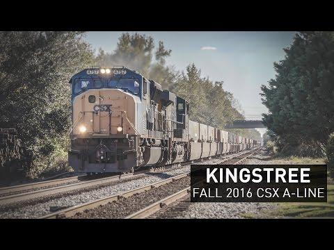 CSX A-Line Charleston Subdivison | Fall 2016 at Kingstree, SC
