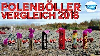WELCHER POLENBÖLLER IST AM BESTEN 2018? FP3 vs. DUM BUM vs. EXPLO XXL...
