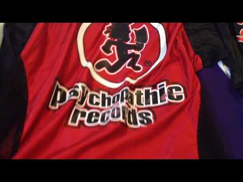 Icp Twiztid Psychopathic Record Jersey Collection