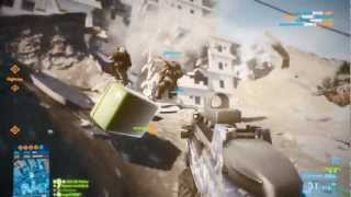 Battlefield 3: Aftermath  (PC gameplay, all maps)