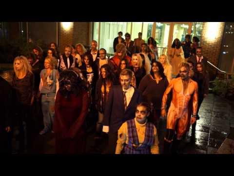 Видео: Thriller FlashMob - Halloween 2014 - Danceville USA, Columbus Ohio