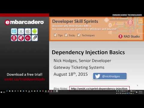 Developer Skill Sprint - Using Dependency Injection for Maintainable Code