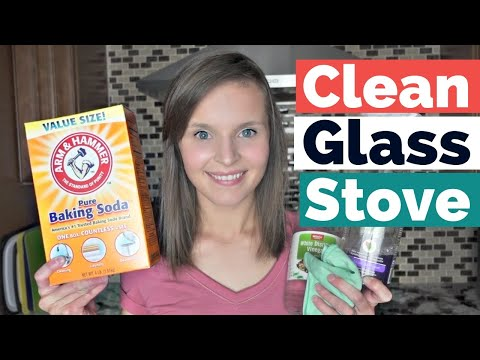 How To Clean Glass Top Stove with Baking Soda and Vinegar - How to Clean Glass Cooktop