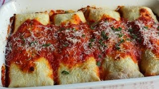 Turkey Manicotti Recipe -- Leftover Turkey Special