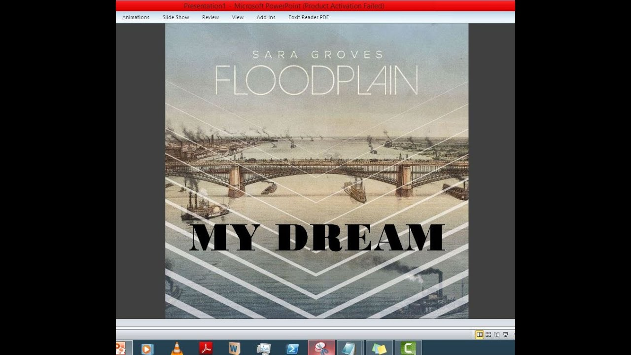 Sara Groves - My Dream (Lyrics) - YouTube