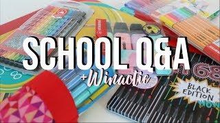 Video Middelbare School Q&A + Winactie Tas | Bo download MP3, 3GP, MP4, WEBM, AVI, FLV September 2018