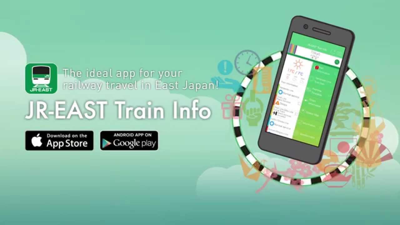 Guidebook JR East Info: Application of Travelling by JR East