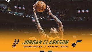 Highlights: Jordan Clarkson — 15 points, 3 assists