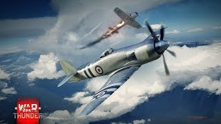 Gambar cover Wild Fury - Racha rápida con el Sea Fury FB 11 - War Thunder RB