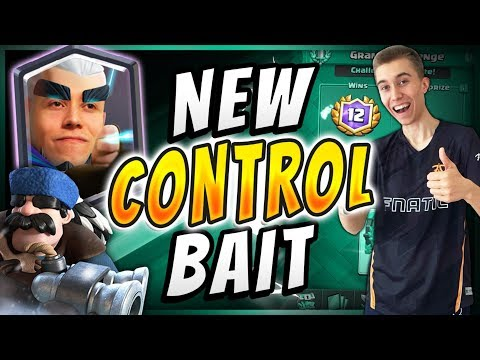 *NEW* BEST CONTROL DECK! MAGIC ARCHER BAIT DECK  — Clash Royale