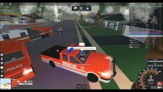 ROBLOX - THE LIT FIRE DEPARTMENT! (ULTIMATE DRIVING)