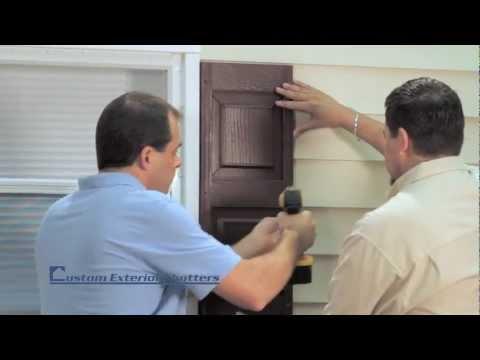 installing-exterior-shutters-using-screws