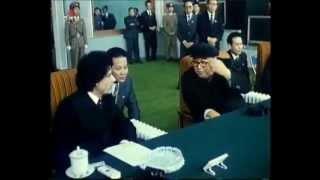 Repeat youtube video Muammar Gaddafi's visit to North Korea