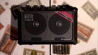 Roland Mobile Cube Portable Amp - Unboxing - New Years Eve