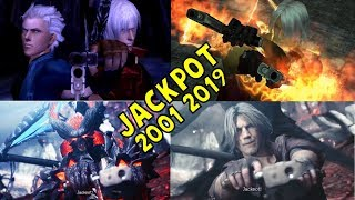 Evolution of Jackpot & Why Dante Says it 2001-2019 - Devil May Cry 5 (DMC5 2019)
