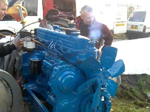 County 954 Rebuilt Engine First Start Youtube