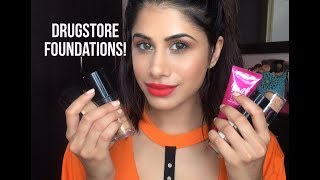 MY MOST FAVOURITE DRUGSTORE FOUNDATIONS! | Malvika Sitlani