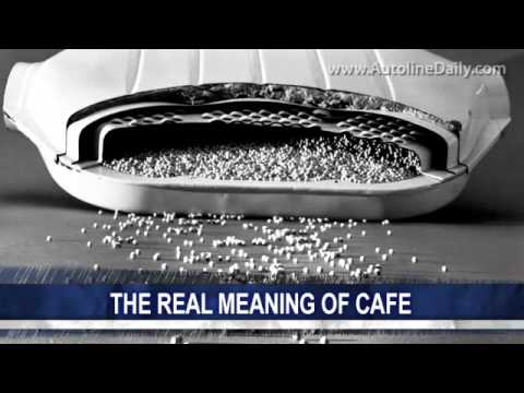 Jim Hall on CAFE and Speculators