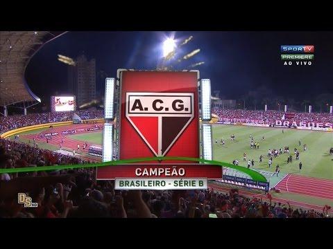 Gols - Atlético-GO 5 x 3 Tupi - Brasileirão 2016 Série B