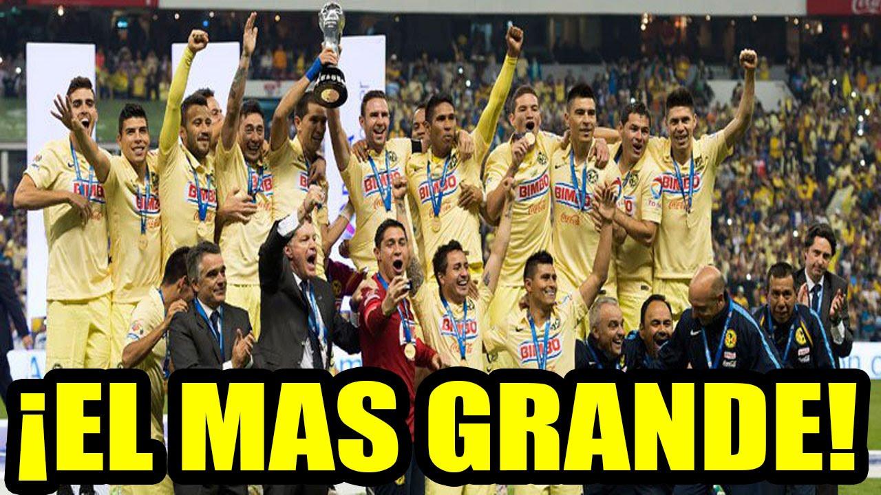 América Campeón Apertura 2014 El Color América Vs