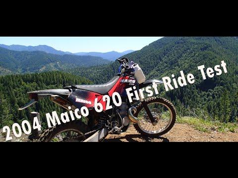 2004 Maico 620 First Ride Test