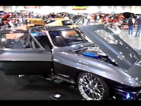 Custom '64 C2 ZR1 Corvette Stingray - YouTube