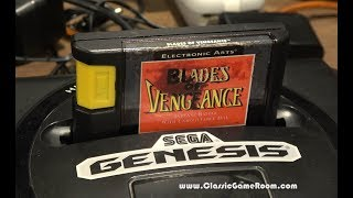 Classic Game Room - BLADES OF VENGEANCE review for Sega Genesis