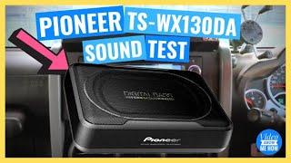 pioneer TS-WX130DA Compact Slim Active Subwoofer - INSTALL