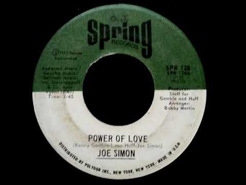 Joe Simon -  Power Of Love