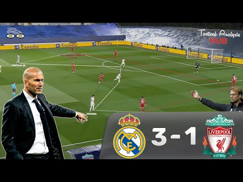 Real Madrid 3-1 Liverpool - Tactical Analysis: How Zidane's Real Madrid Tactically Dominated Klopp's Liverpool