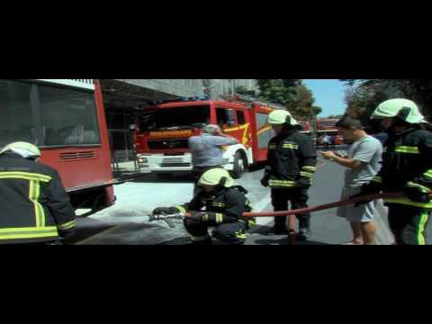 Се запали автобус на Рекорд во Скопје
