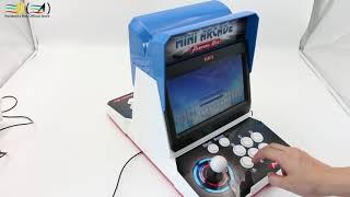 Pandora Box 6 plastic mini arcade 2 player bartop 10 inches dual screen Double fighting arcade