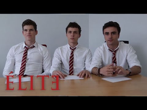 Élite | ¿Quién es el asesino? El cast de Elite adivina | Élite Netflix